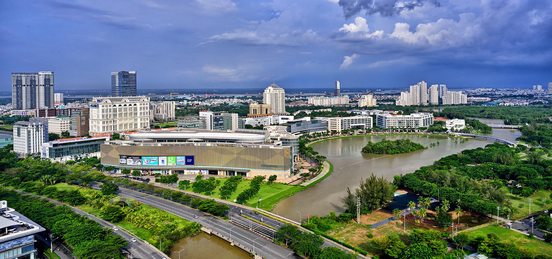 The Crescent District - 5 cụm đô thị do Phú Mỹ Hưng phát triển