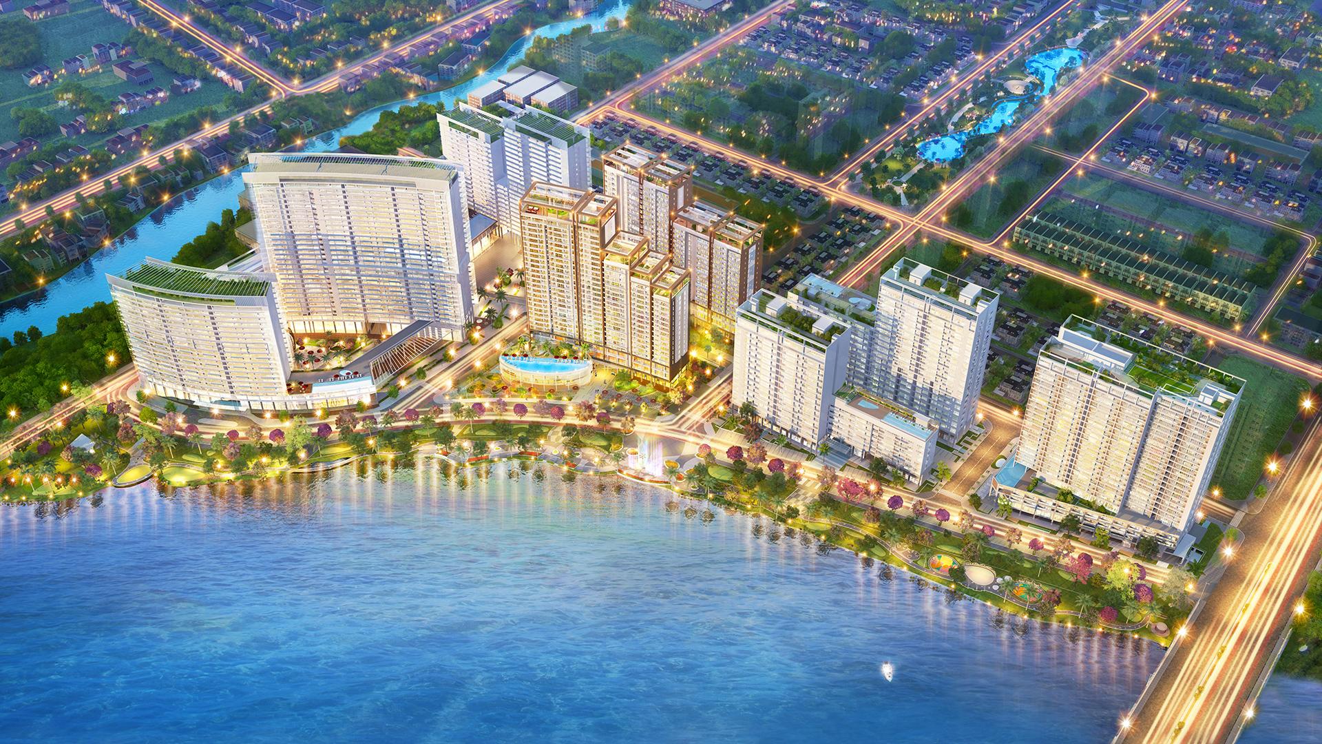 m7 tong the - 5 cụm đô thị do Phú Mỹ Hưng phát triển