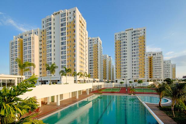 sky garden - 5 cụm đô thị do Phú Mỹ Hưng phát triển