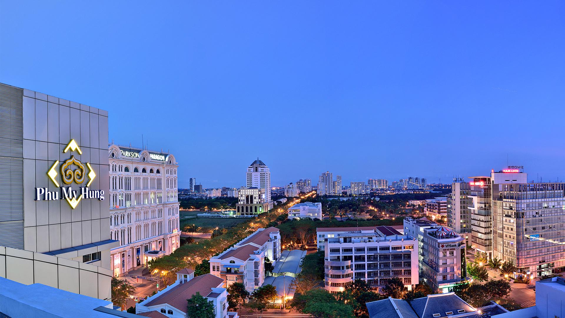 toa nha phu my hung - 5 cụm đô thị do Phú Mỹ Hưng phát triển