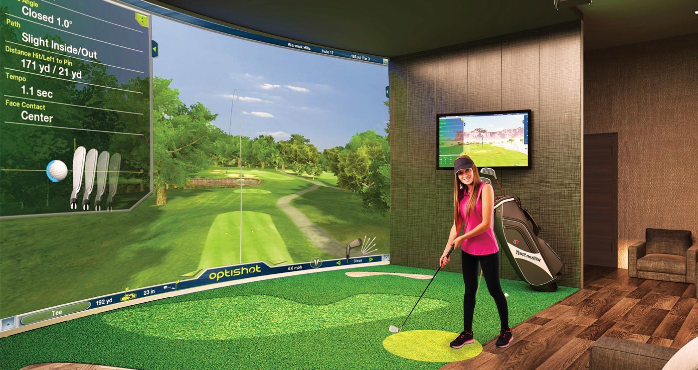 Phòng Tập Golf mô phỏng