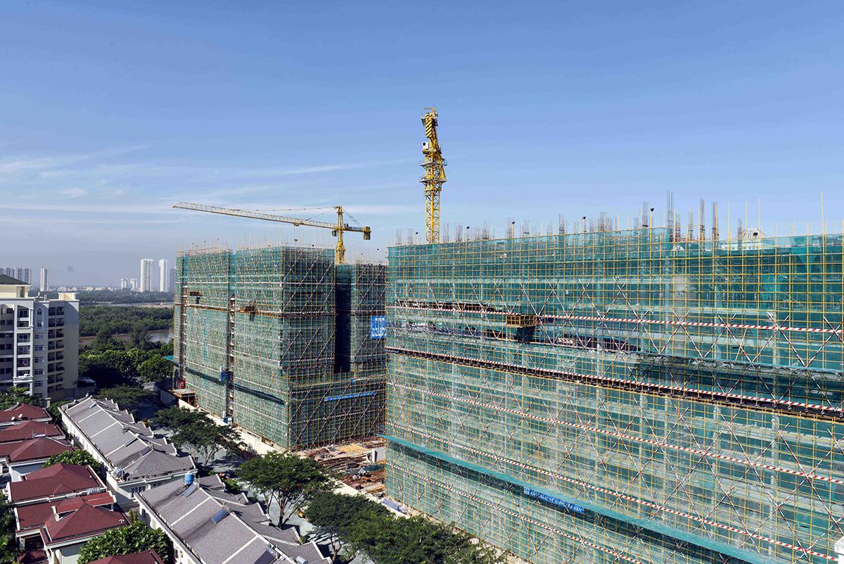 Tiến độ xây dựng Midtown