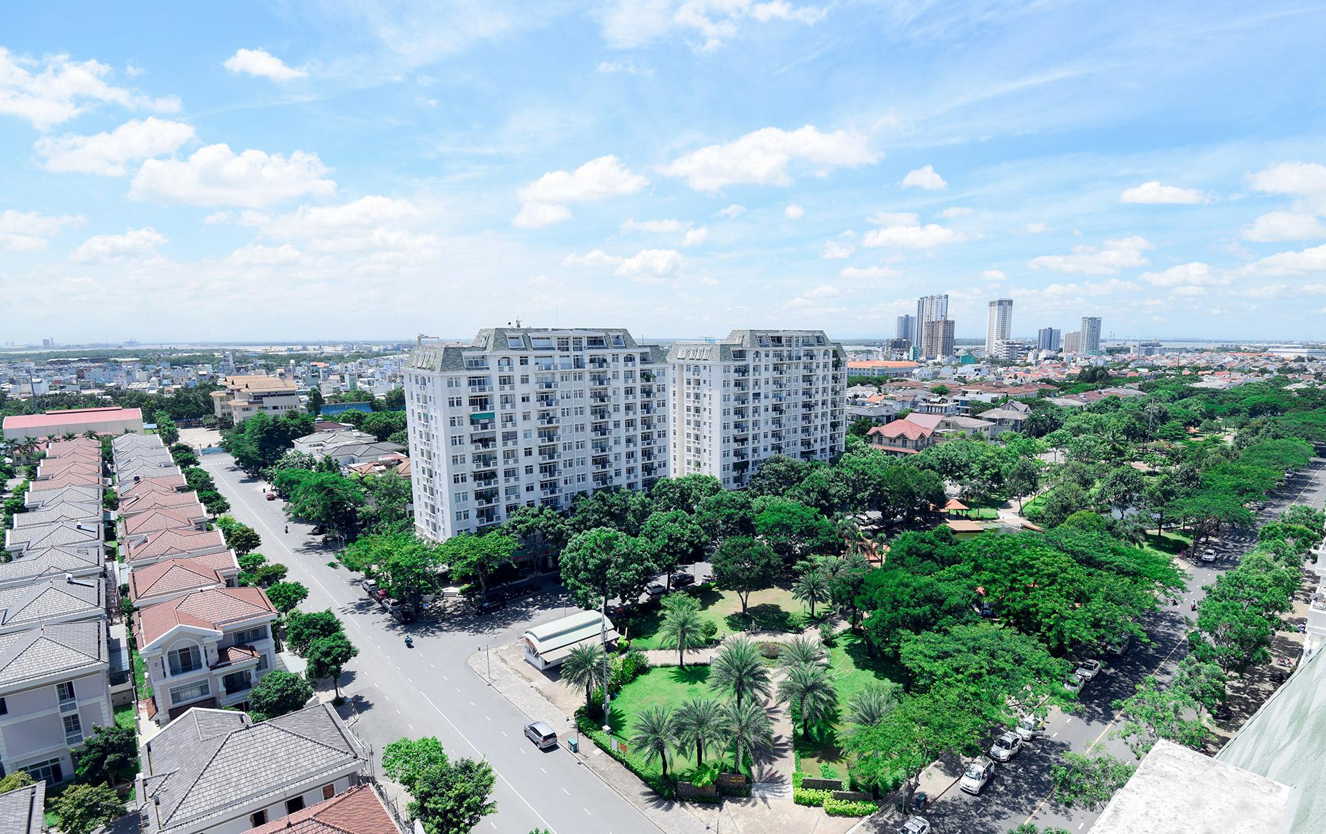 nam vien park - Phú Mỹ Hưng - Đô thị xanh từ quy hoạch đến vật liệu