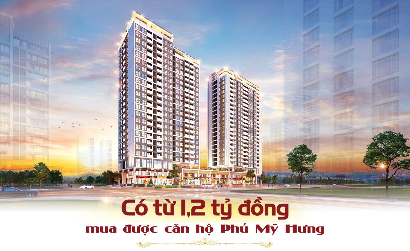 1,2 tỷ đồng mua được căn hộ Phú Mỹ Hưng