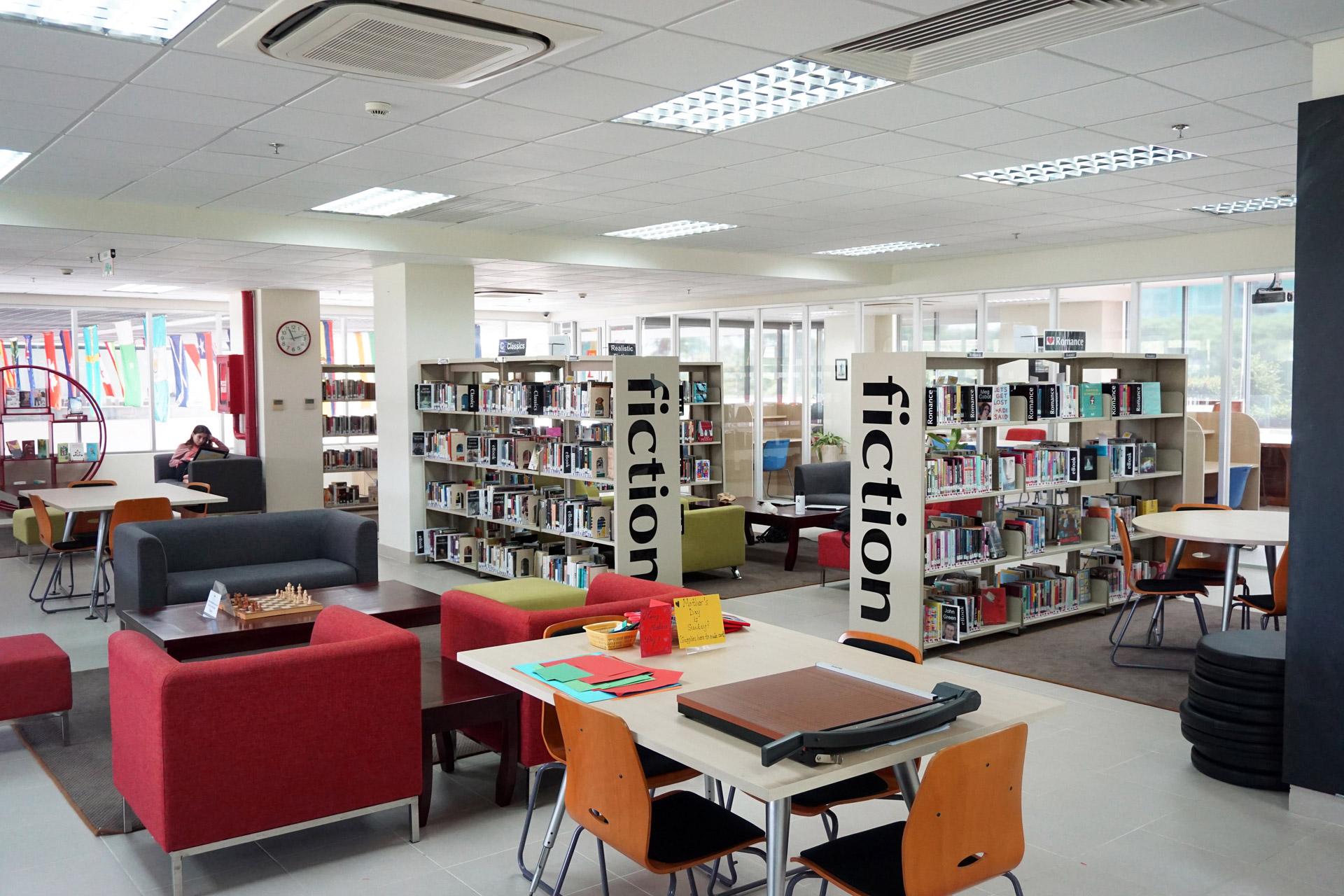thư viện trường quốc tế nam sài gòn