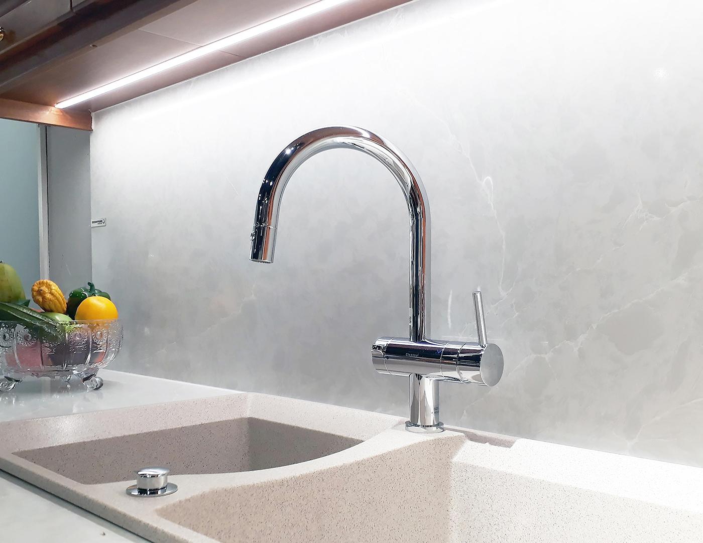 Tiện nghi cho không gian sống hiện đại với thiết bị lọc nước Mitsubishi Chemical Cleansui
