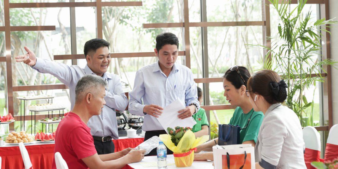 Sự kiện bàn giao căn hộ dự án Saigon South Residences