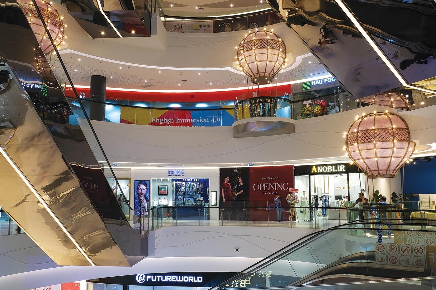 Hàng loạt thương hiệu nổi tiếng sẽ có mặt tại Crescent Mall