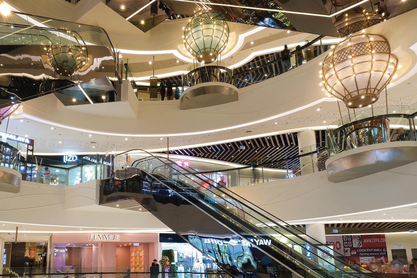 Khởi động cho sự kiện này, Crescent Mall mở rộng với 6 tầng Trung tâm Thương mại cao cấp cùng tòa nhà văn phòng 24 tầng.