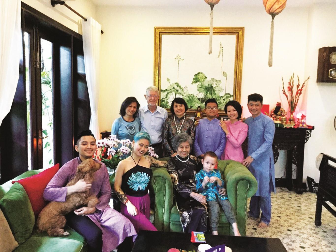 Đón Tết trong nhà mới ở Phú Mỹ Hưng