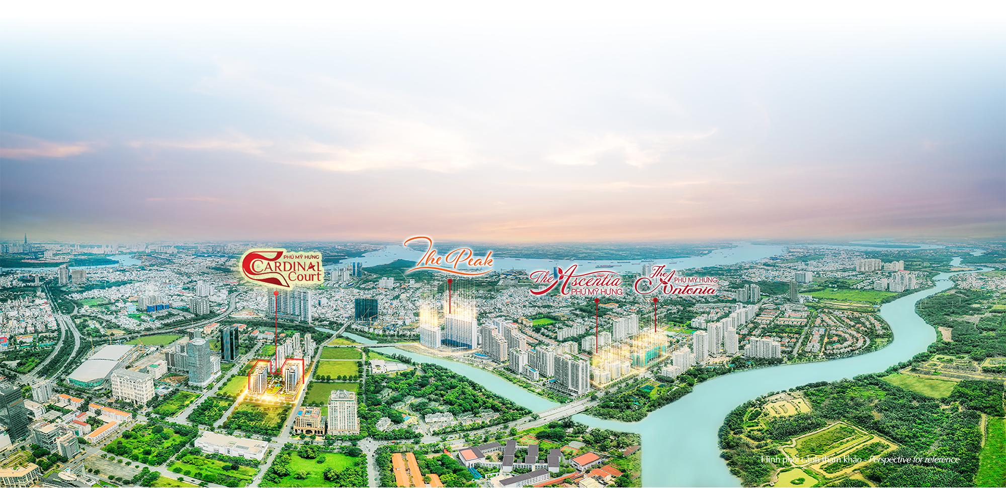 dự án đắt giá của chủ đầu tư Phú Mỹ Hưng