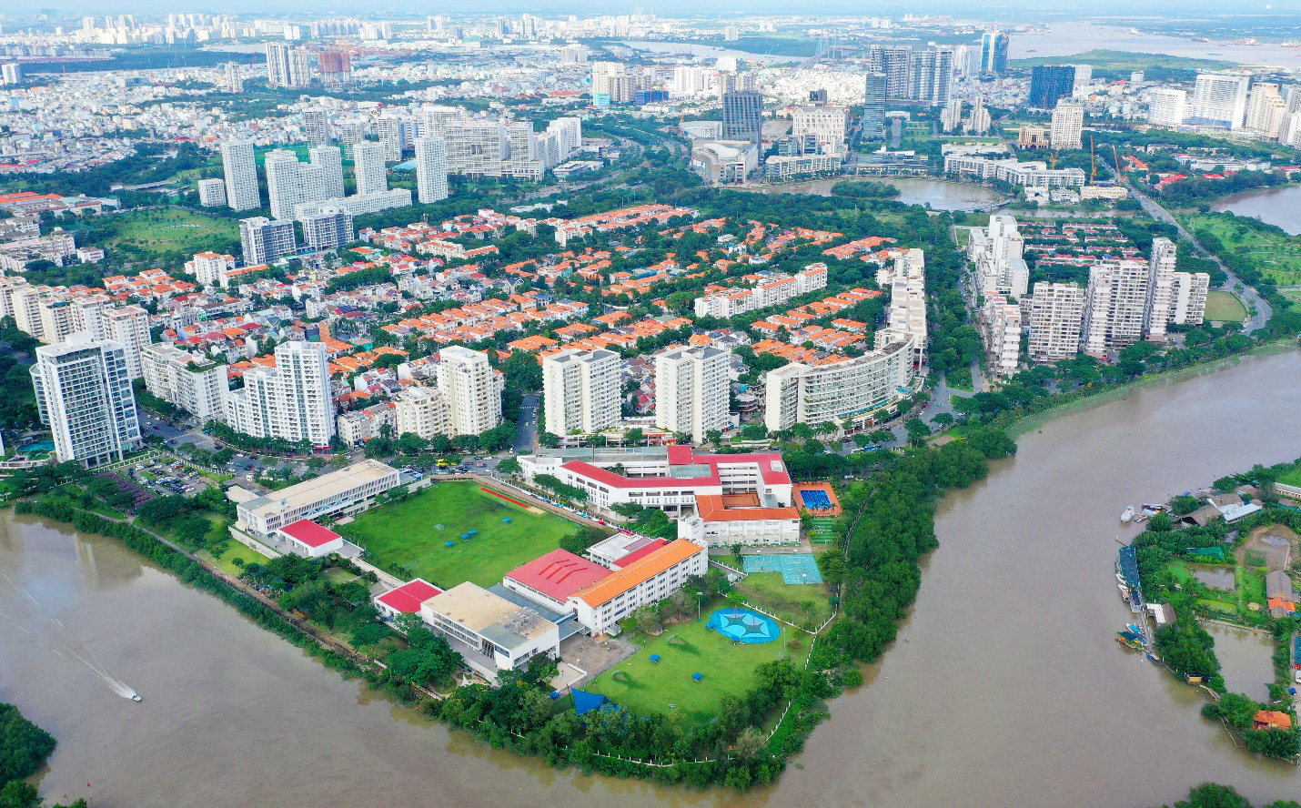 Khu đô thị Phú Mỹ Hưng trở thành hạt nhân phát triển của khu vực phía Nam Thành phố