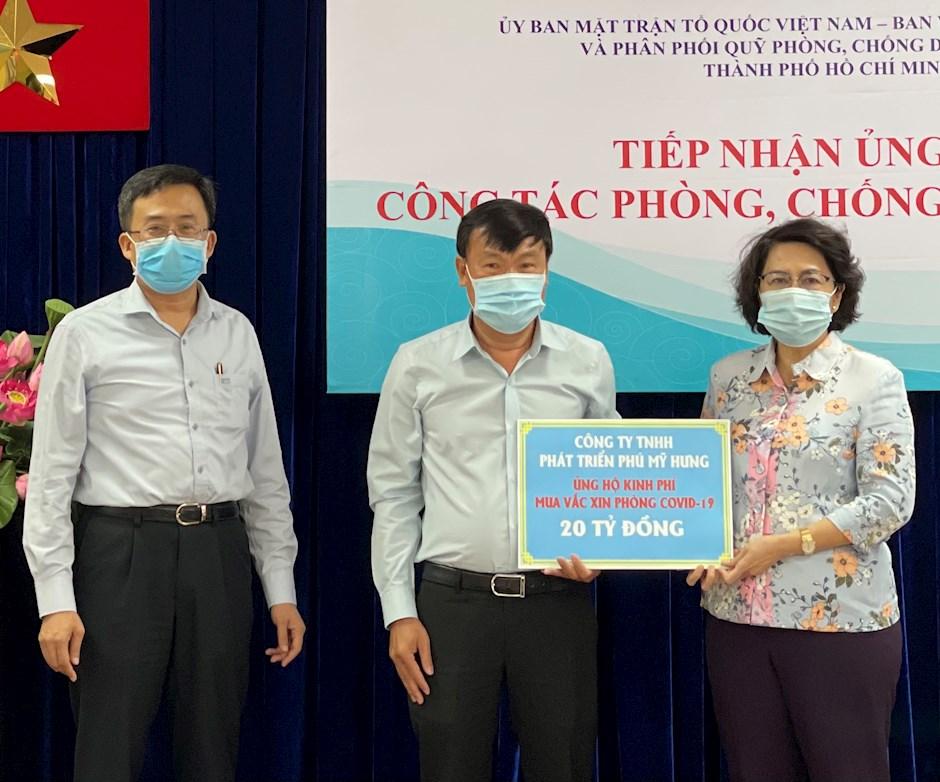 Phú Mỹ Hưng ủng hộ 20 tỷ mua vaccine